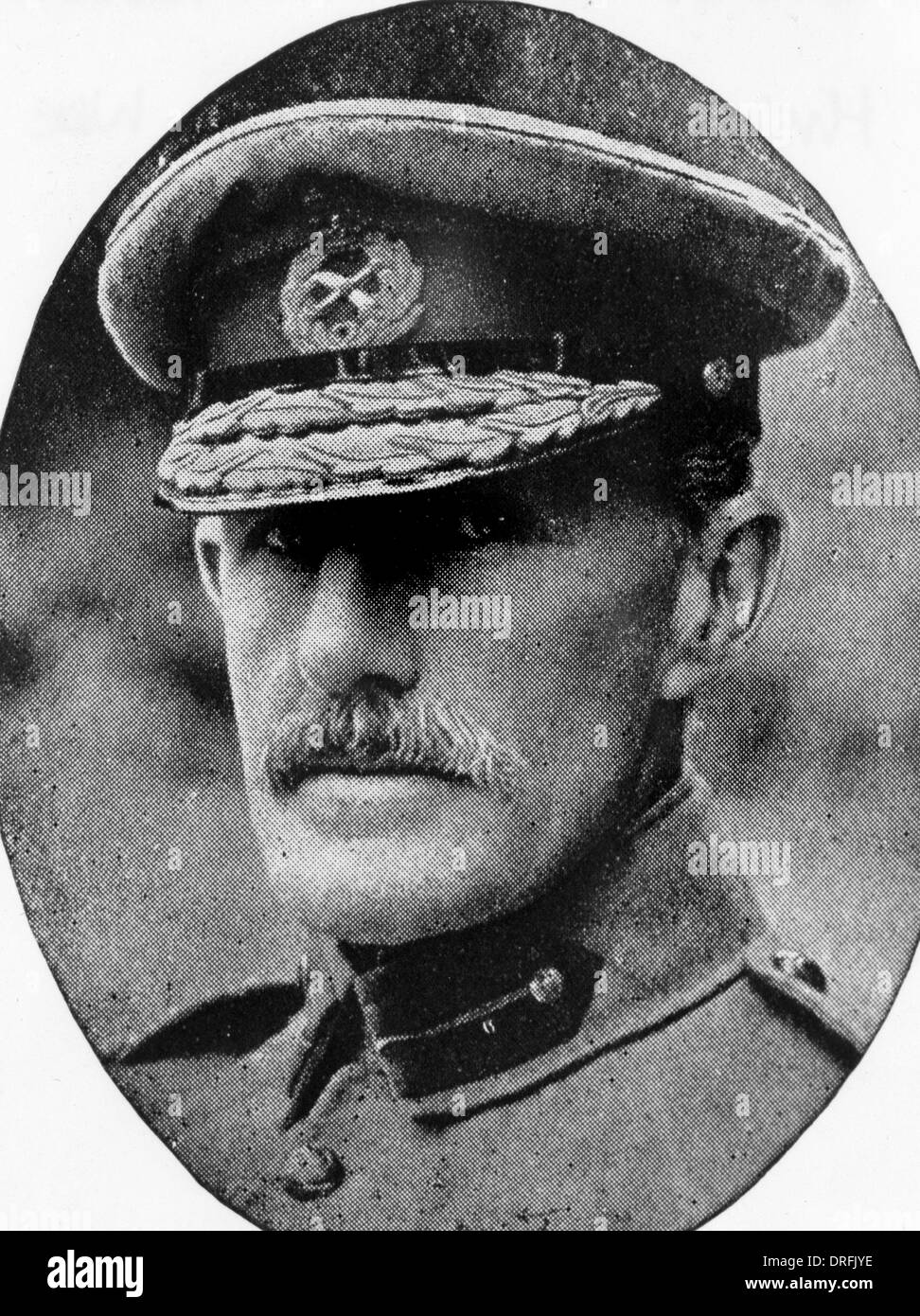 General Sir Horace Smith-Dorrien, British soldier - Stock Image