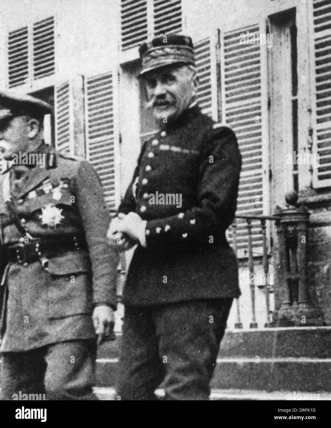 Marshal Foch, General in the French Army during WW1 - Stock Image
