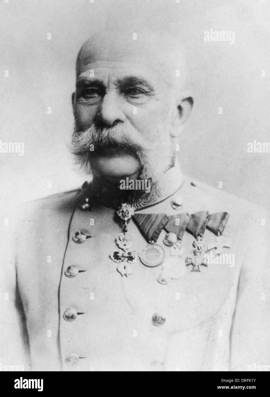 Kaiser Franz Josef I, Emperor of Austria - Stock Image