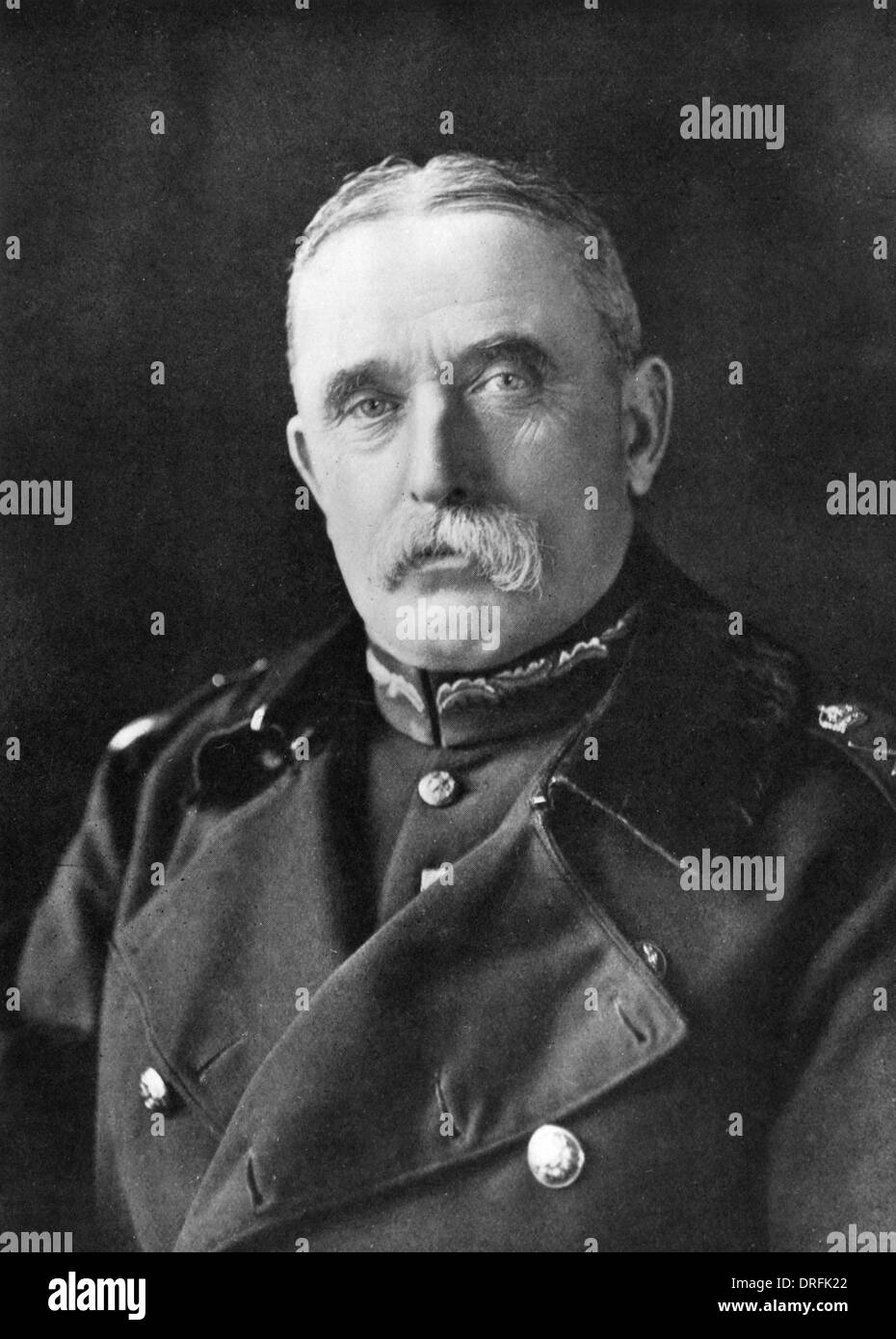 Field Marshal Sir John French, British Army officer - Stock Image
