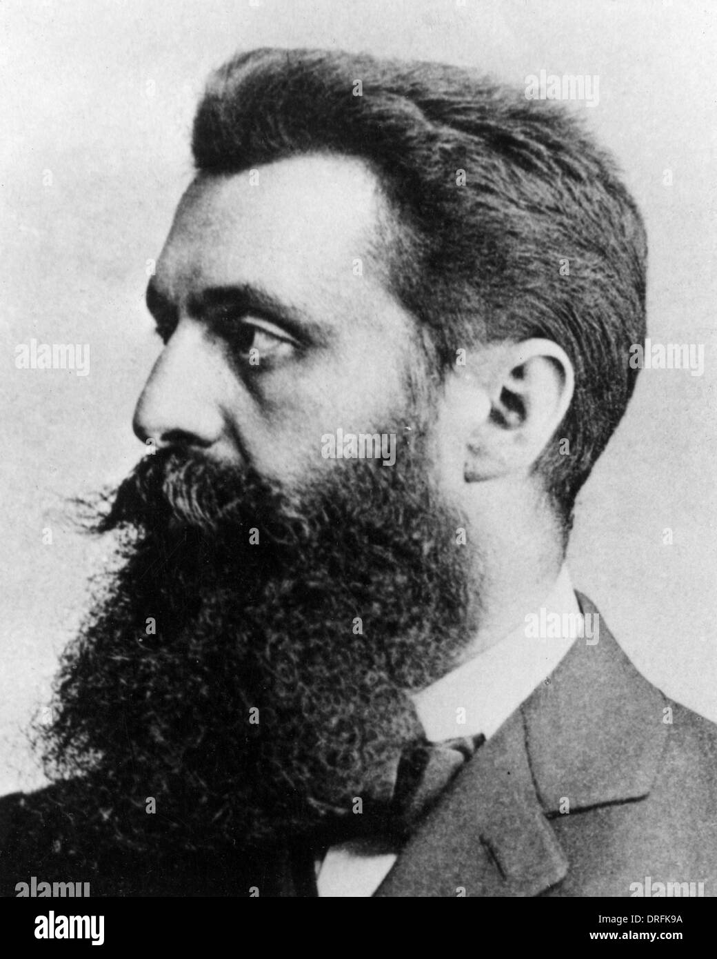 Theodor Herzl, journalist, founder of Zionism - Stock Image