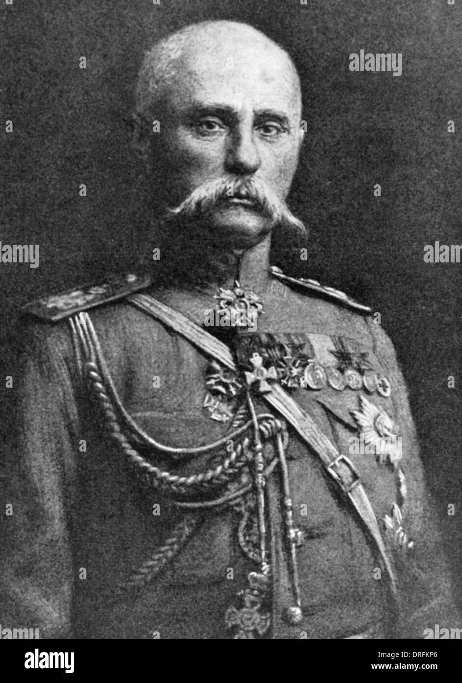 General Lechitski, Russian army officer - Stock Image