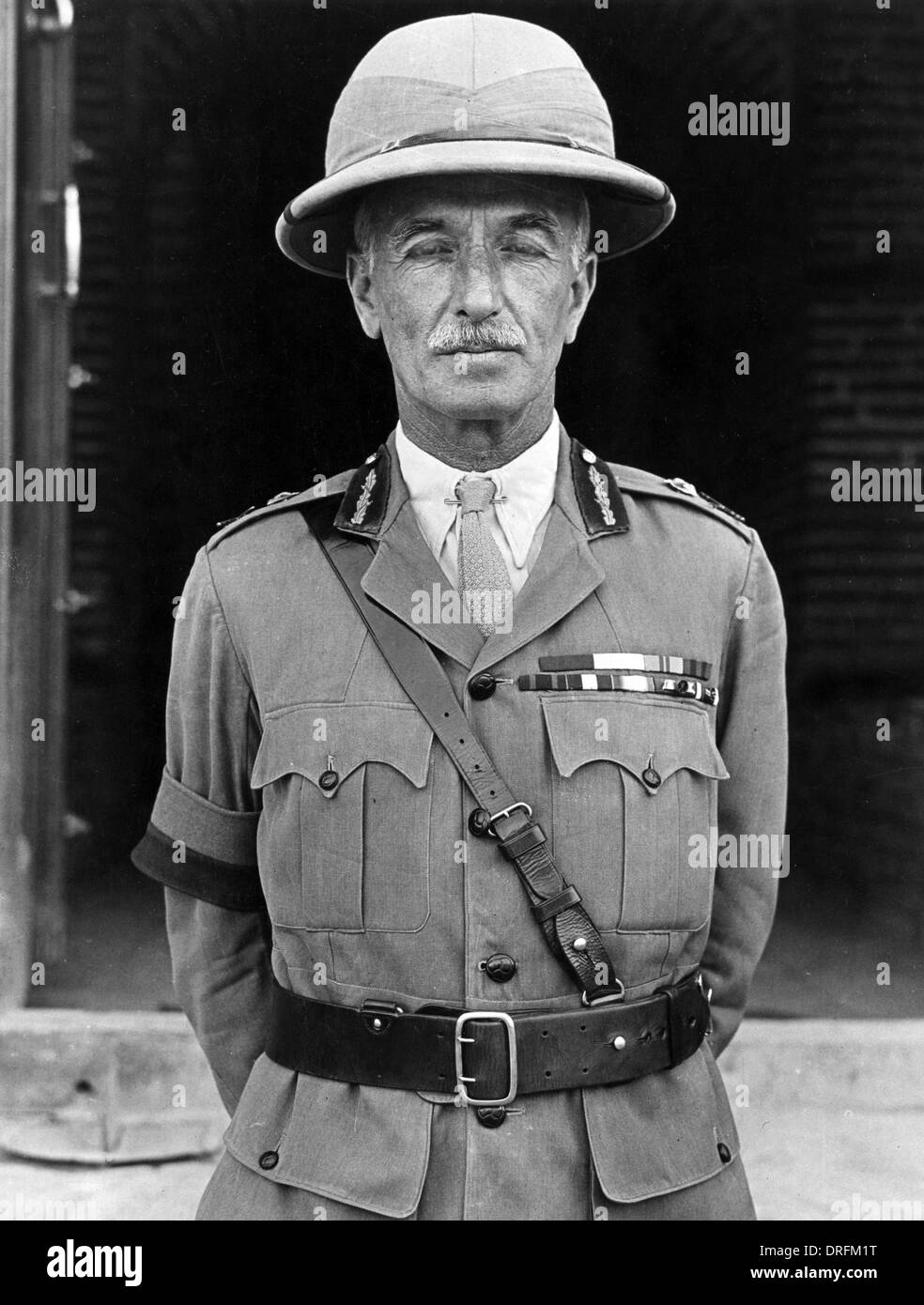 General Sir W R Marshall, British army officer, WW1 - Stock Image