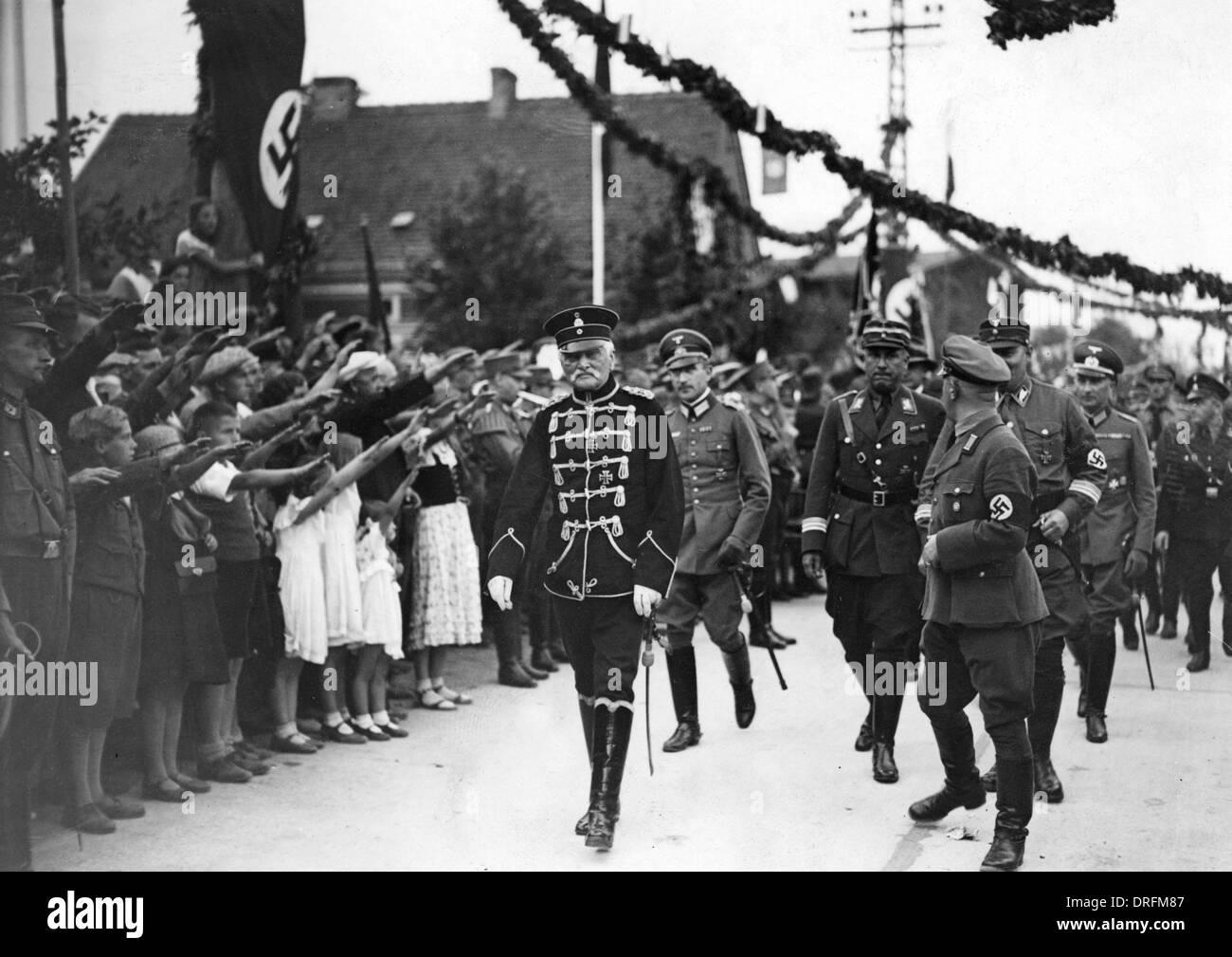 1940 Field Marshal Ceremony