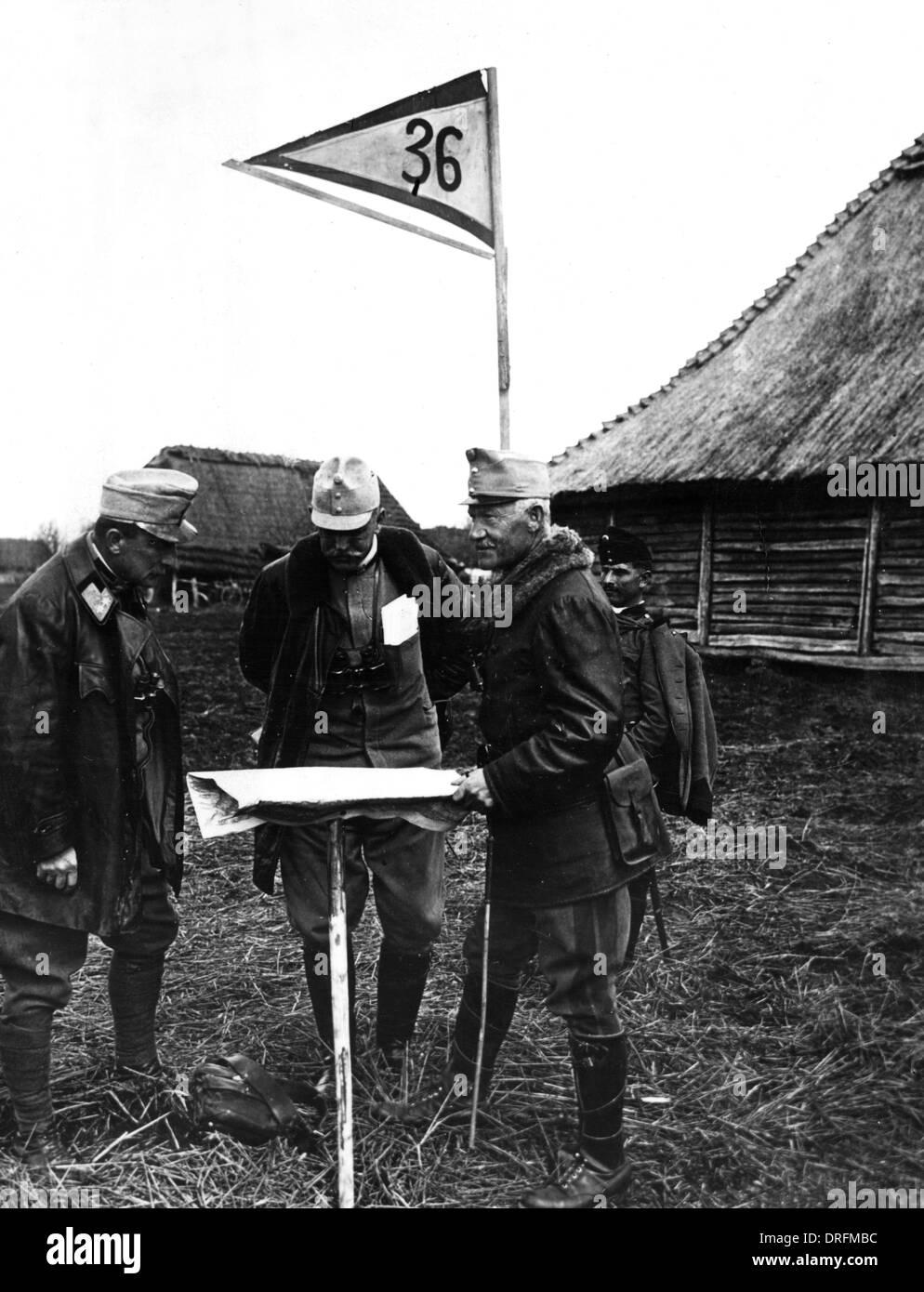 Field Marshal Franz von Schwarzenfeld - Stock Image