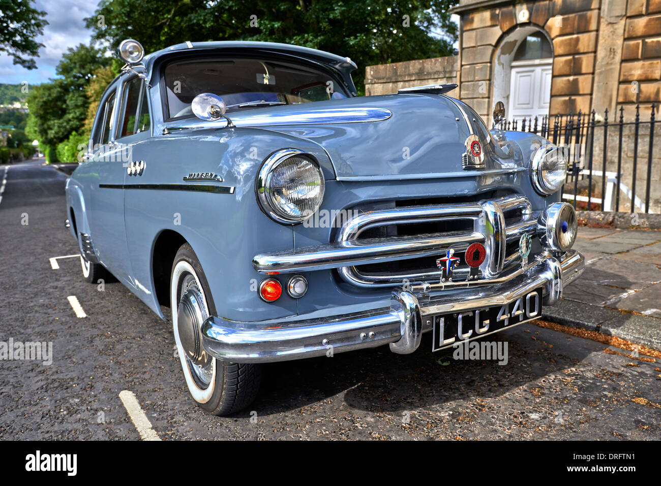 The Vauxhall Wyvern is a medium-sized family car introduced by Vauxhall in 1948 as a successor to the Vauxhall 12 - Stock Image