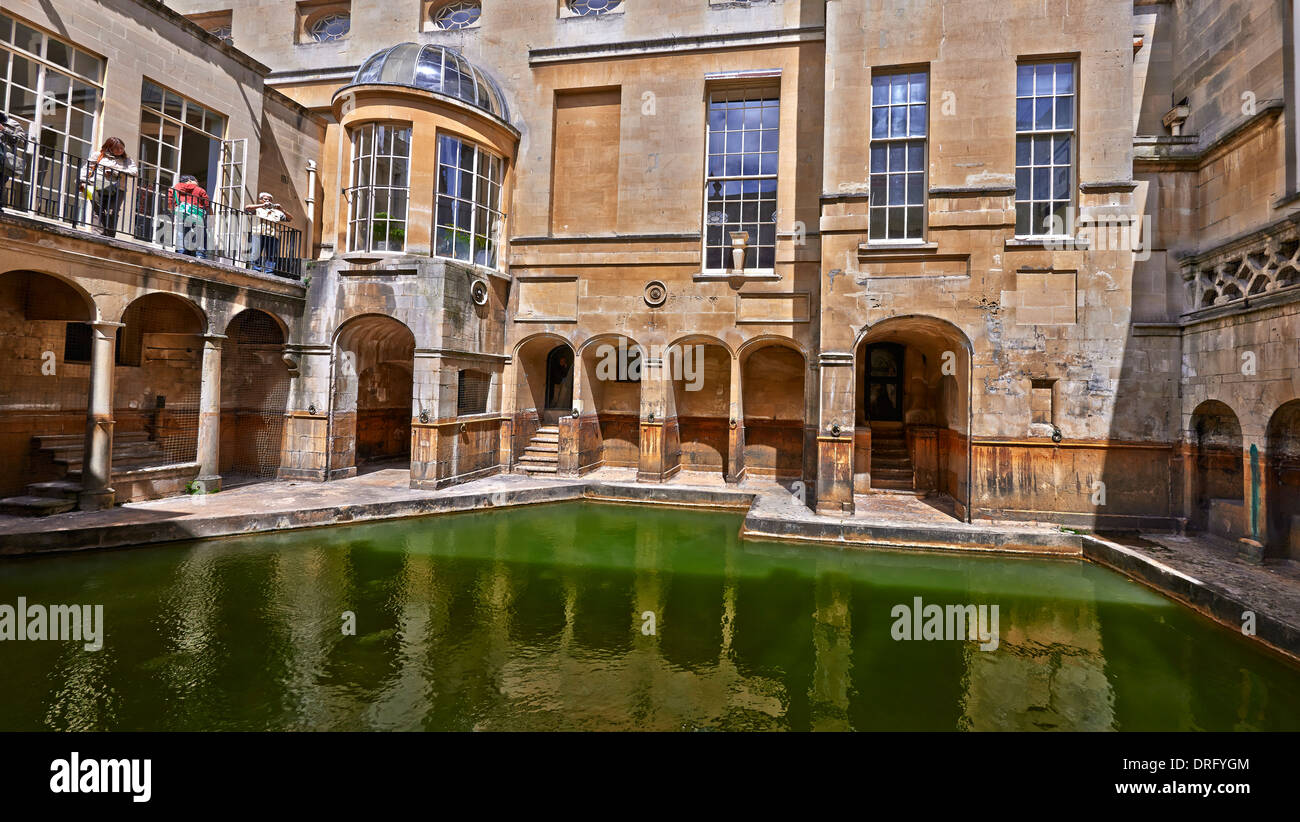 The Roman Baths complex is a site of historical interest in the ...