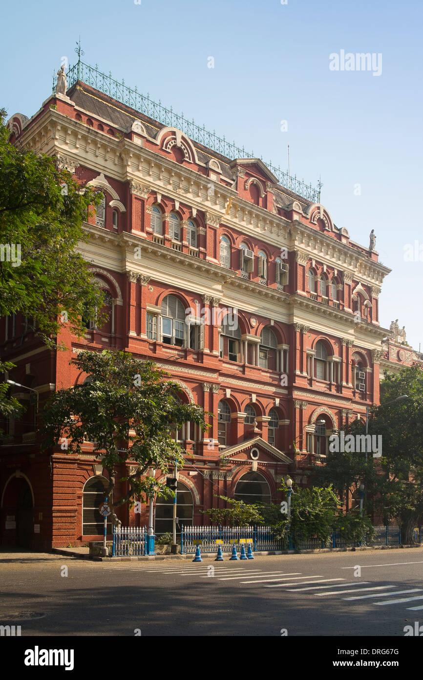 India, West Bengal, Kolkata, Writers' Building - Stock Image