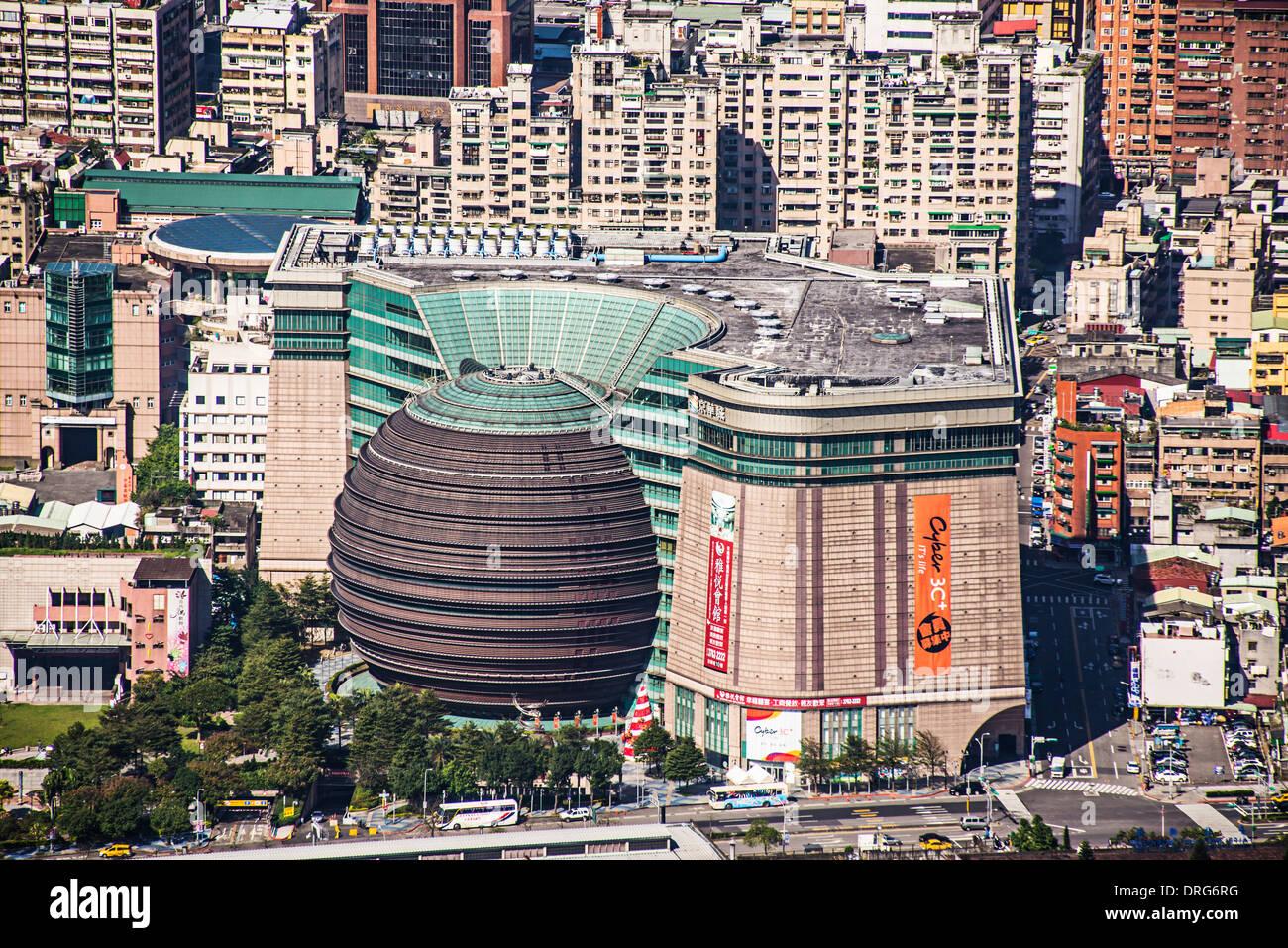 Core Pacific City in Taipei, Taiwan. - Stock Image