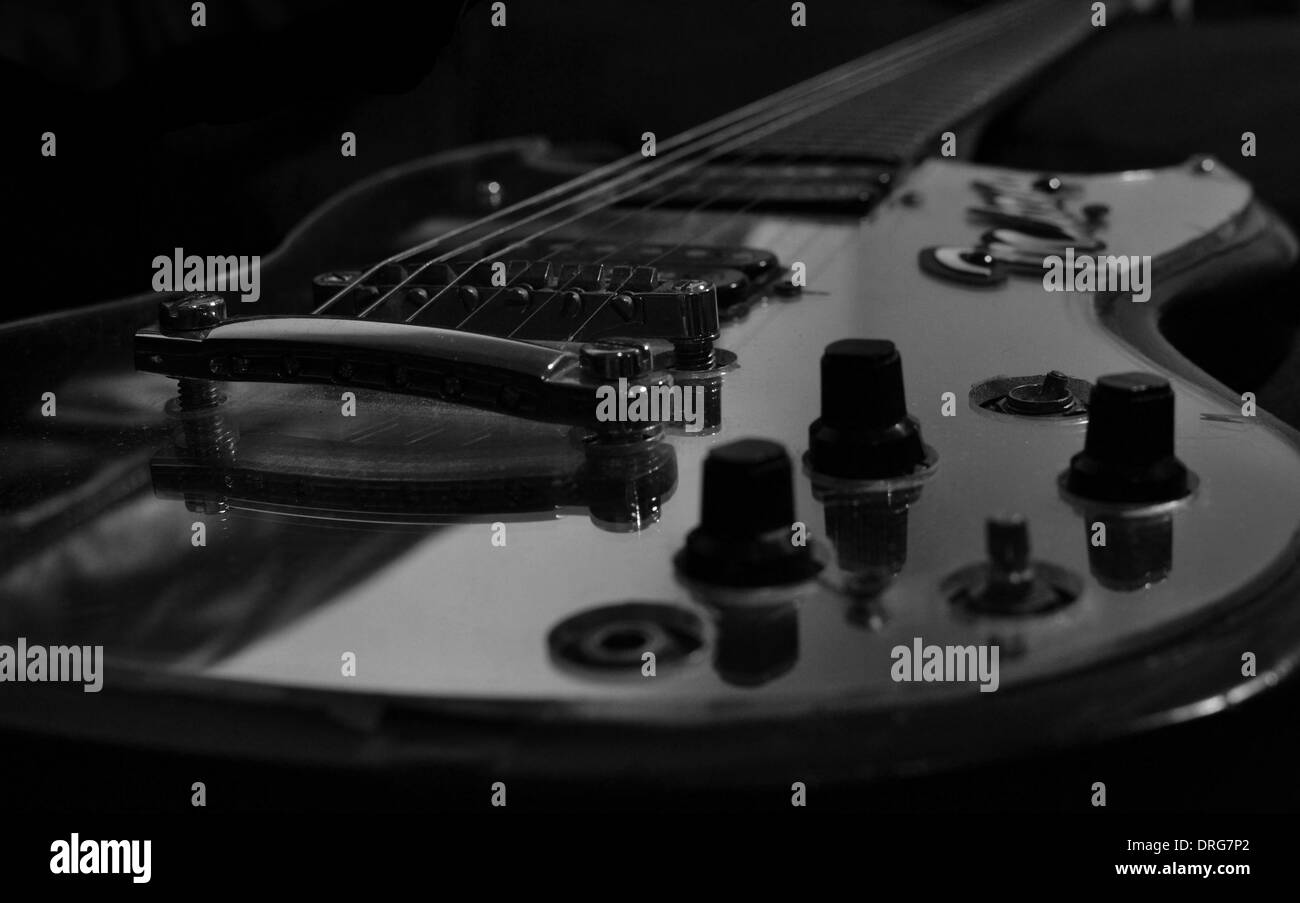 GUITAR - Stock Image
