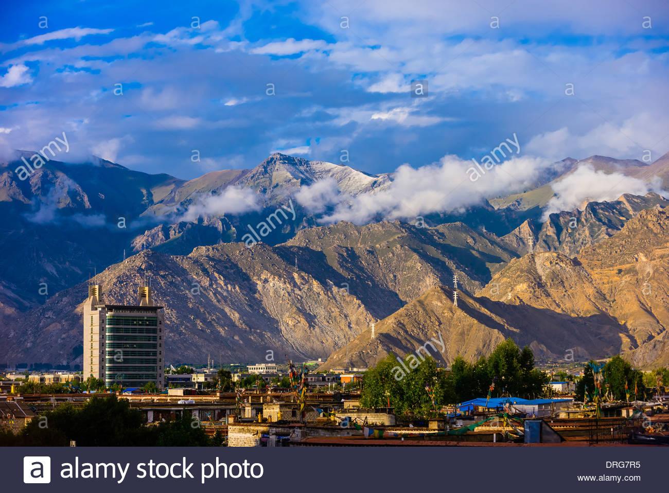 Lhasa, Tibet (Xizang), China. - Stock Image