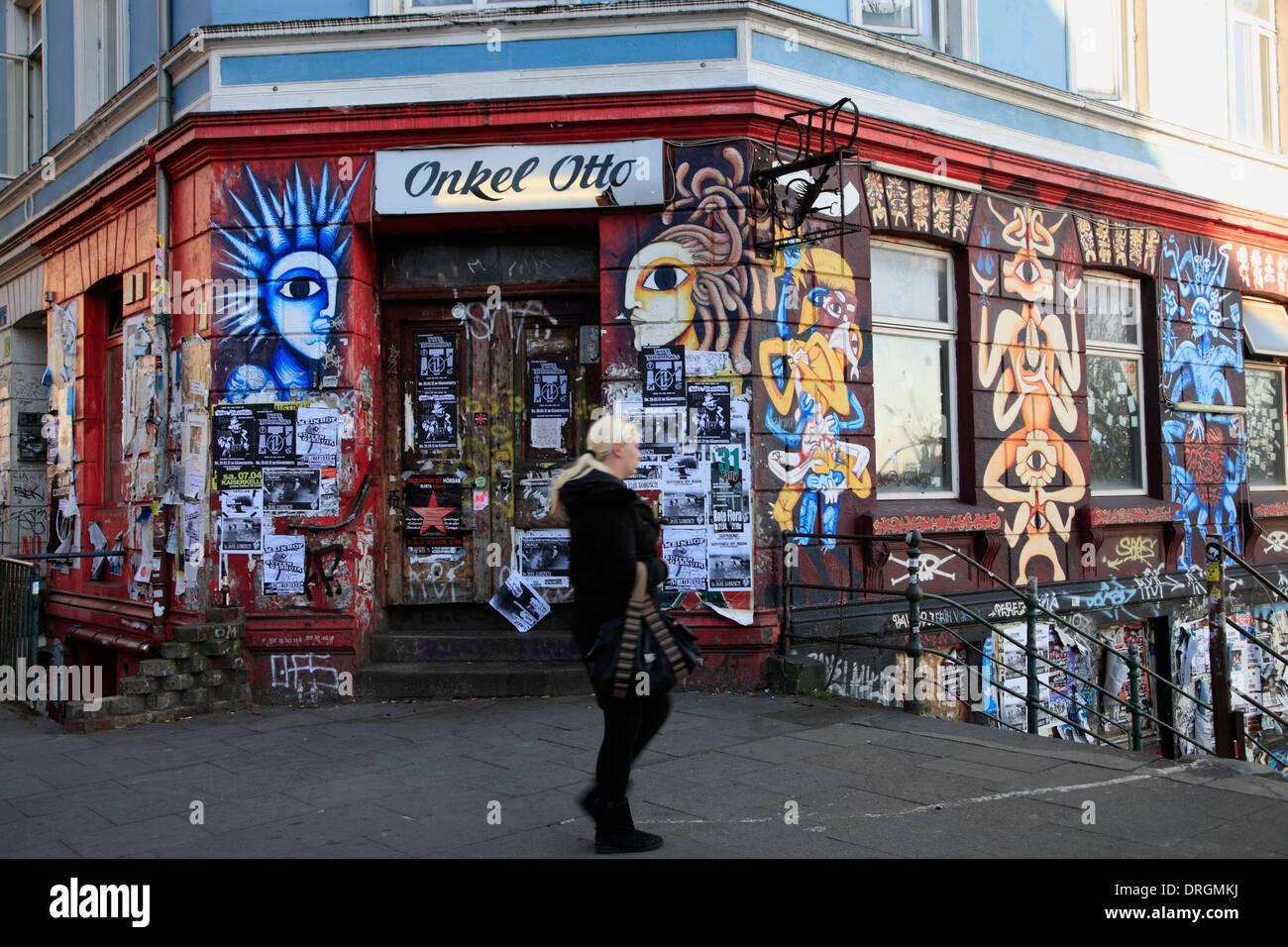 Germany Hamburg St Pauli Bar Stock Photos & Germany Hamburg St Pauli ...