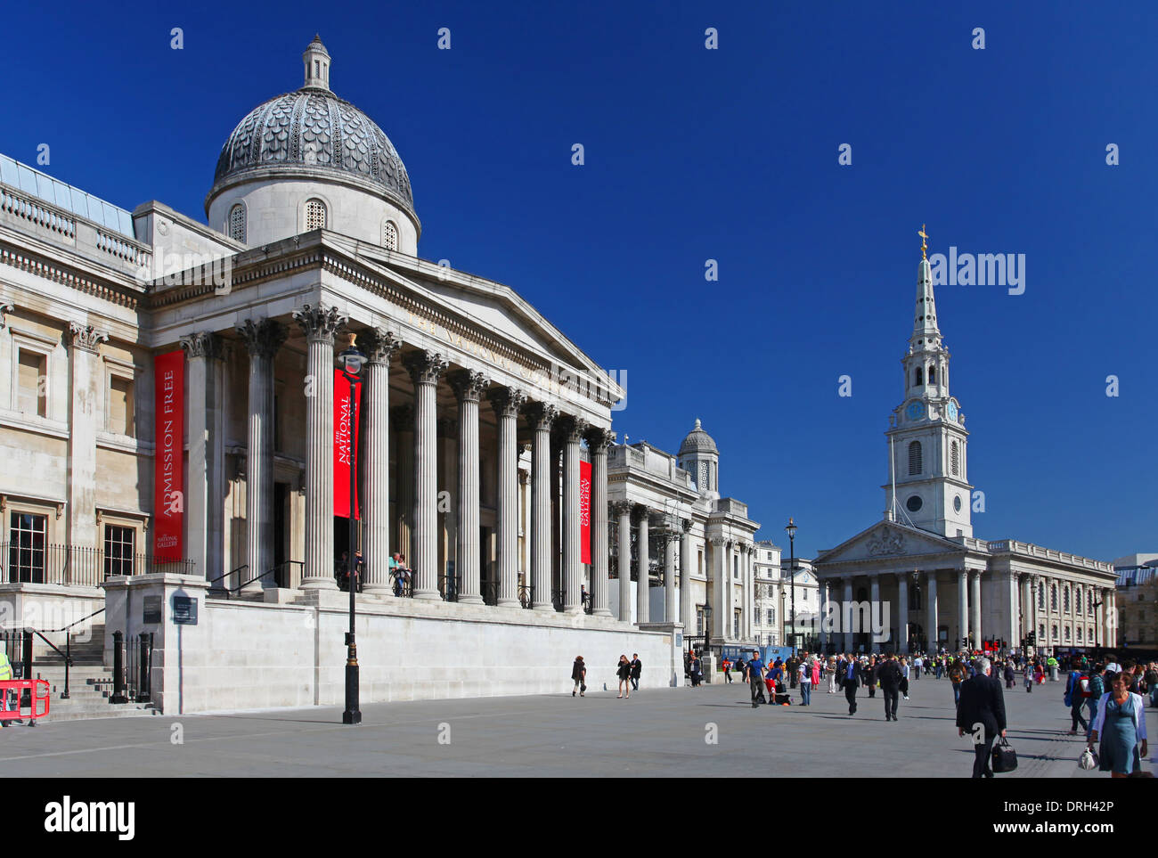 The National Gallery in London Stock Photo