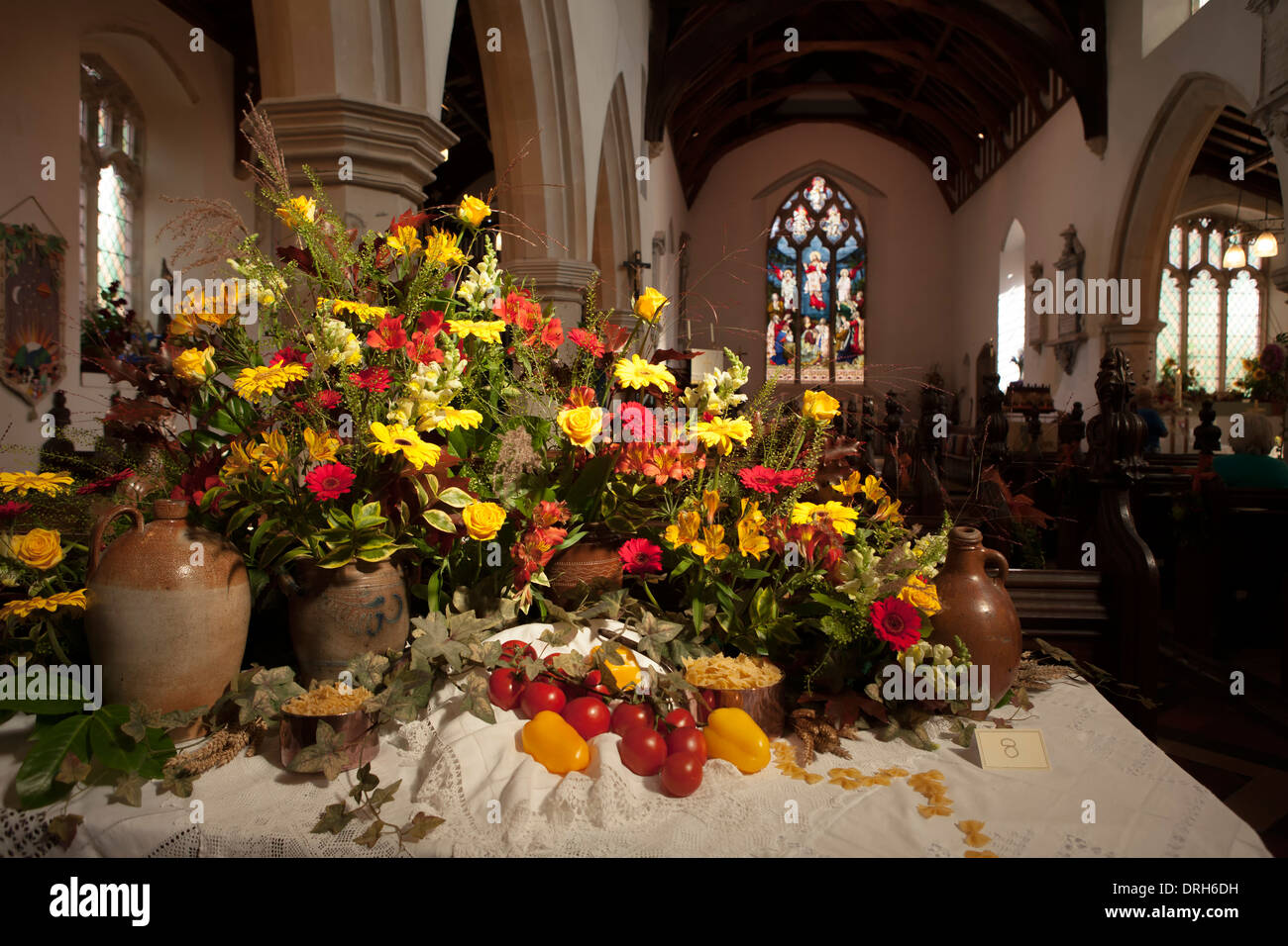 Harvest Festival Church High Resolution Stock Photography And Images Alamy
