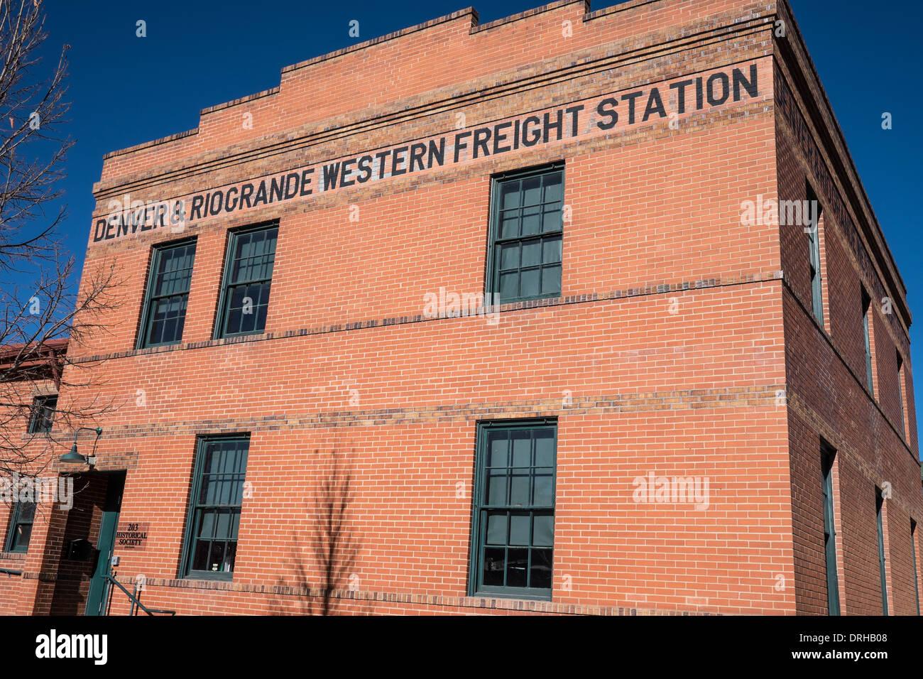 Southeastern Colorado Heritage Center & Museum in Pueblo, Colorado - Stock Image