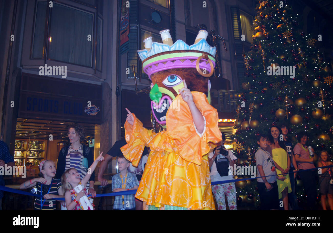 SONY DSC   Parades on the Voyager of the Seas - Stock Image