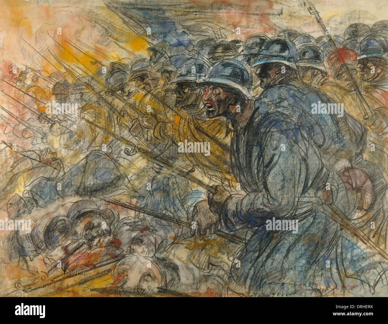 French bayonet ww1 stock photos french bayonet ww1 stock - Battlefield 1 french soldier ...