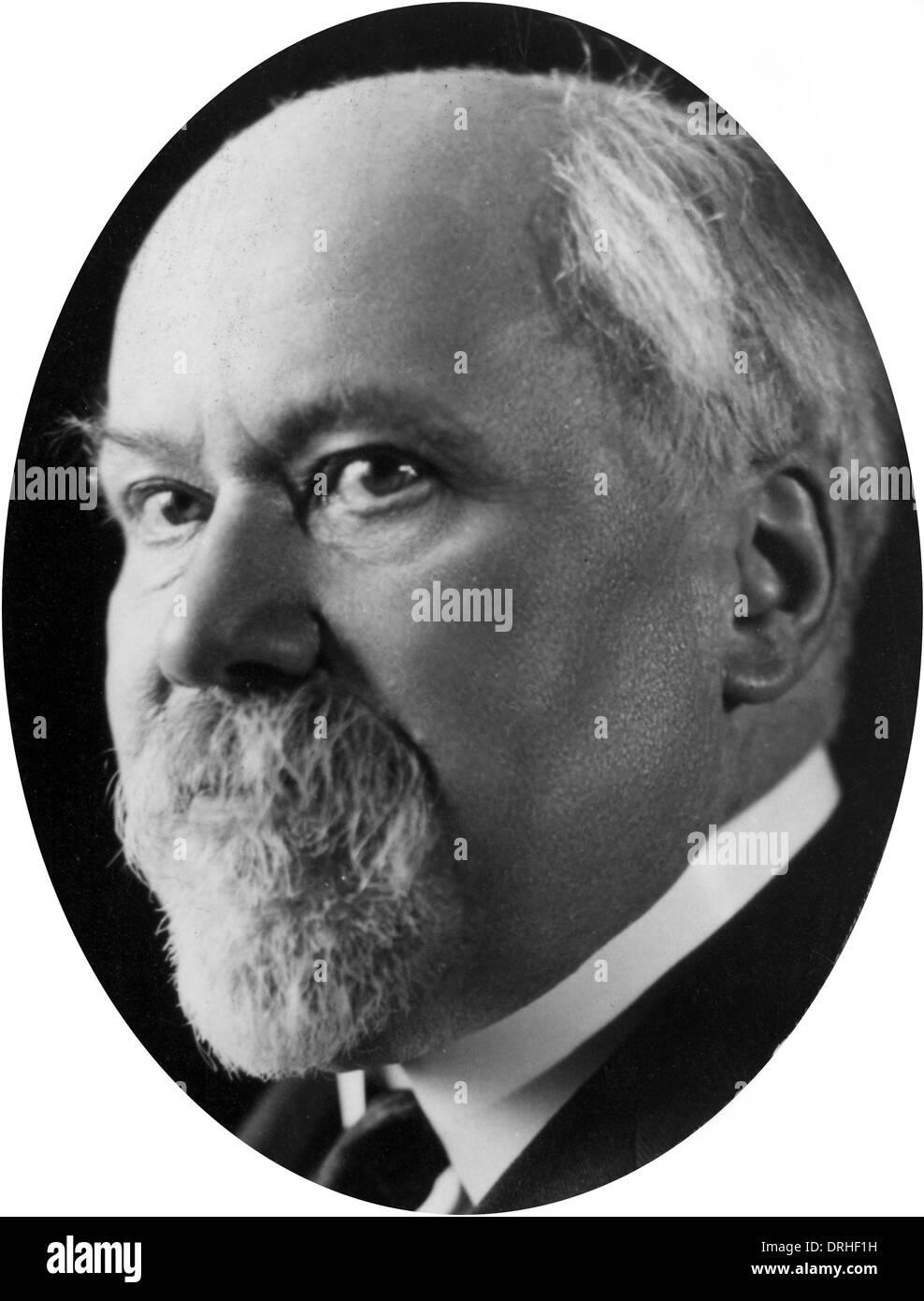 Raymond Poincare, French statesman - Stock Image