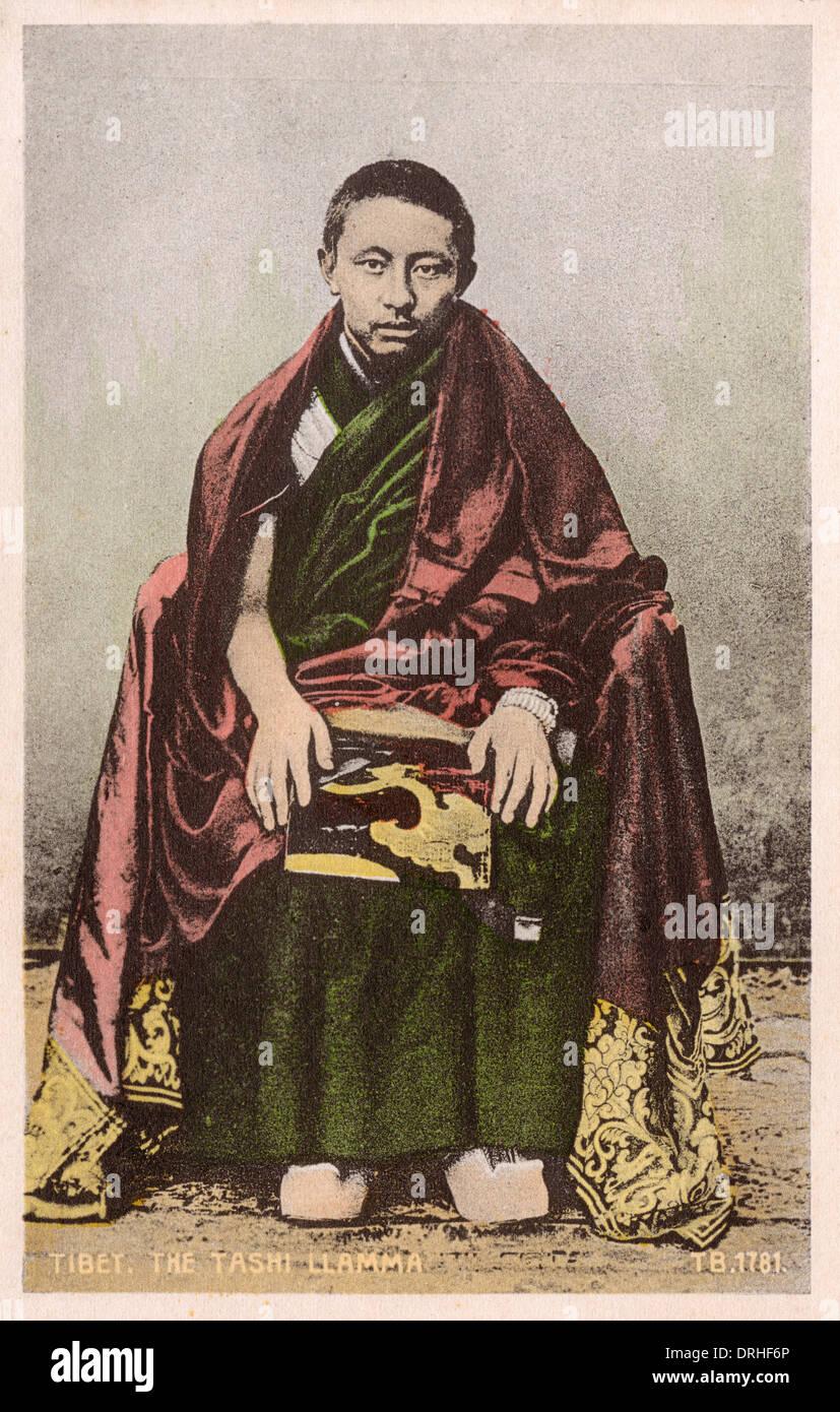 The Chief Lama of Tashi Lumpo - Stock Image
