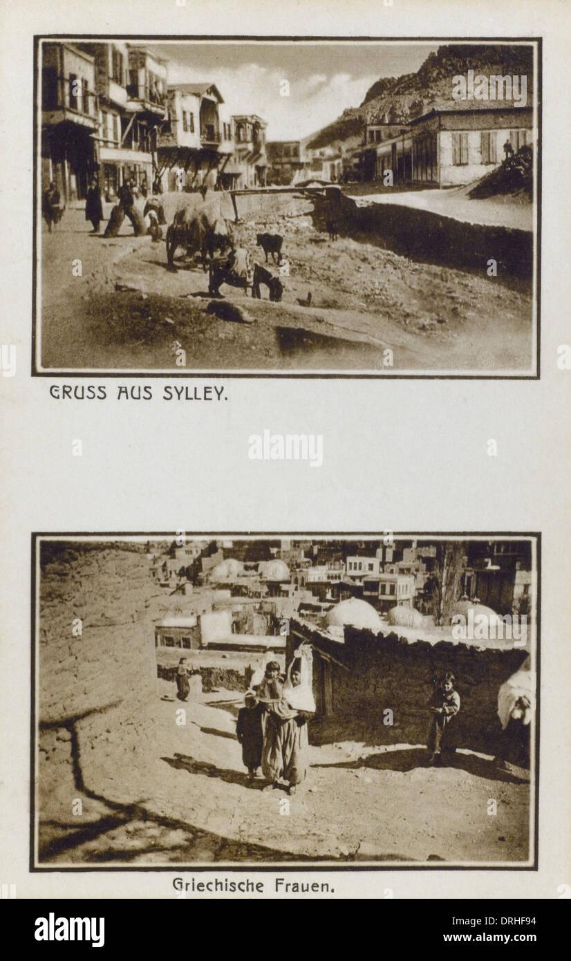 Village of Sille, Turkey - Stock Image