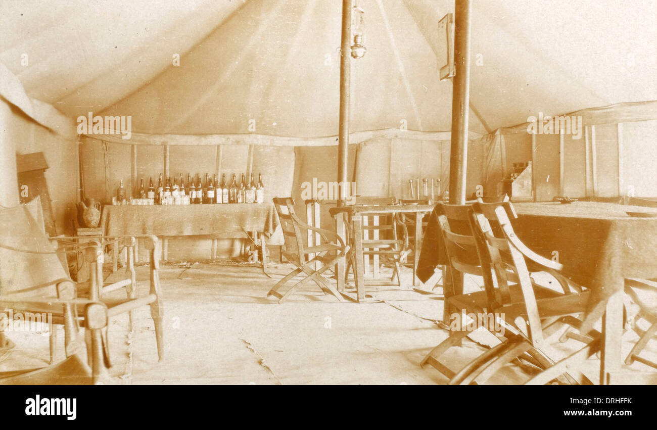 WWI British Army Mess Tent - Chanakkale - Gallipoli - Stock Image & Army Tent Stock Photos u0026 Army Tent Stock Images - Alamy