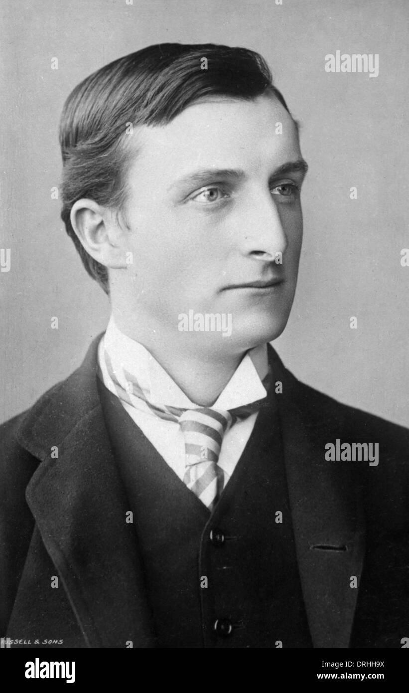 Portrait photograph of Edward Grey, - Stock Image