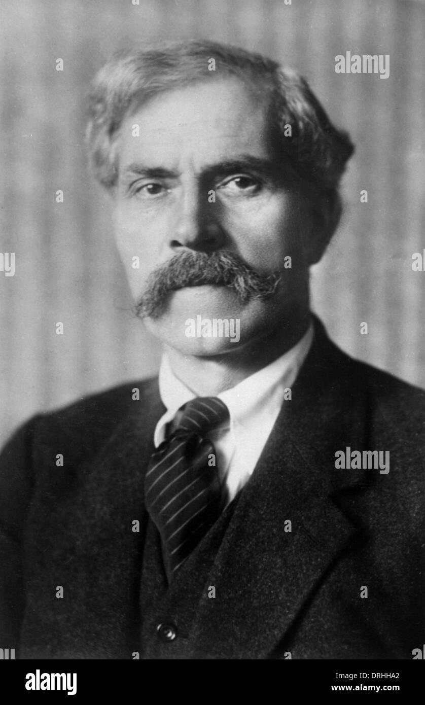 Portrait photograph of Ramsay MacDonald - Stock Image