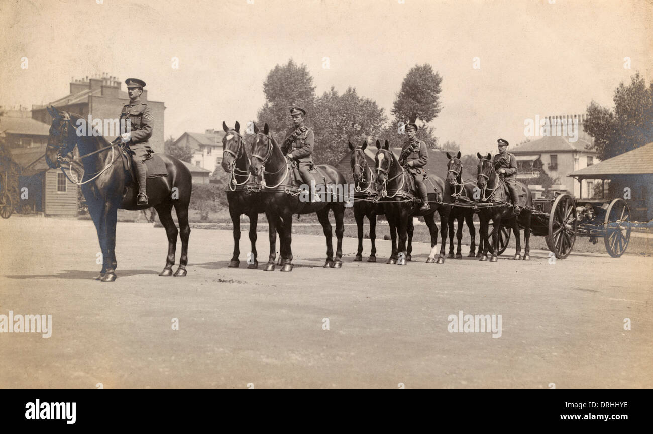 Royal Horse Artillery High Resolution Stock Photography And Images Alamy