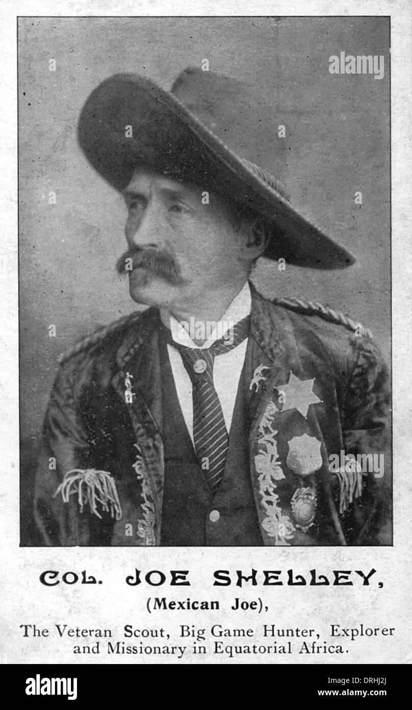 Col. Joe Shelley - Stock Image