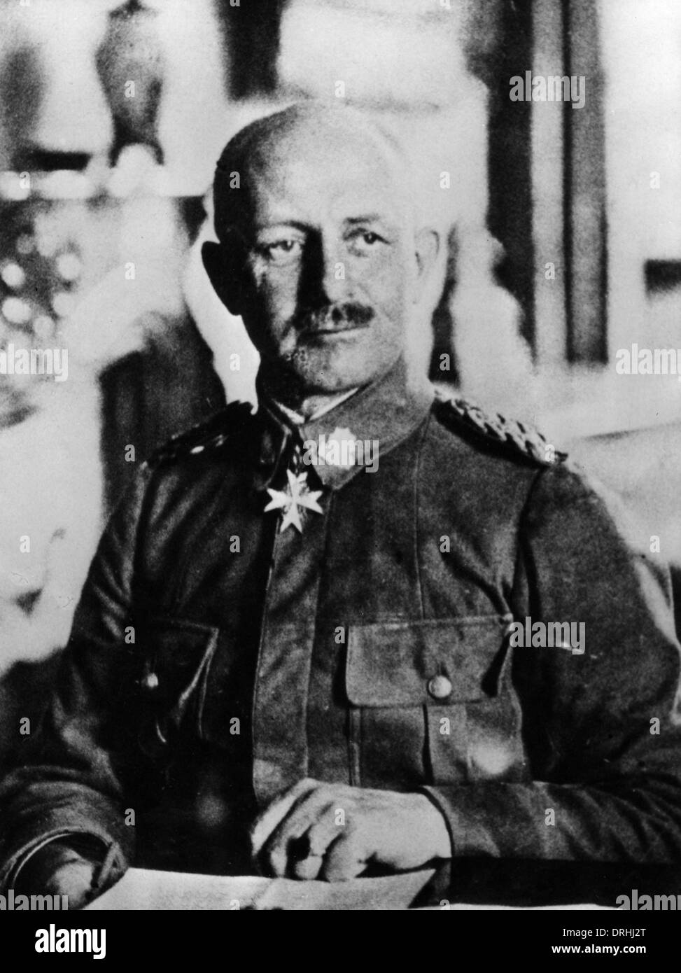 Paul Emil von Lettow-Vorbeck, German army officer, WW1 - Stock Image