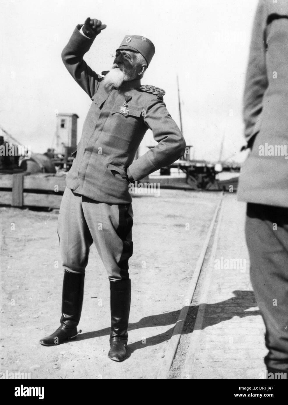 General Bozidar Jankovic, Serbian army officer, WW1 - Stock Image