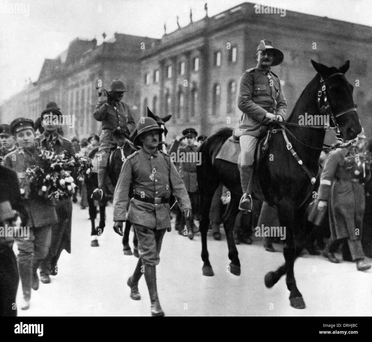 Paul Emil von Lettow-Vorbeck, German army officer - Stock Image