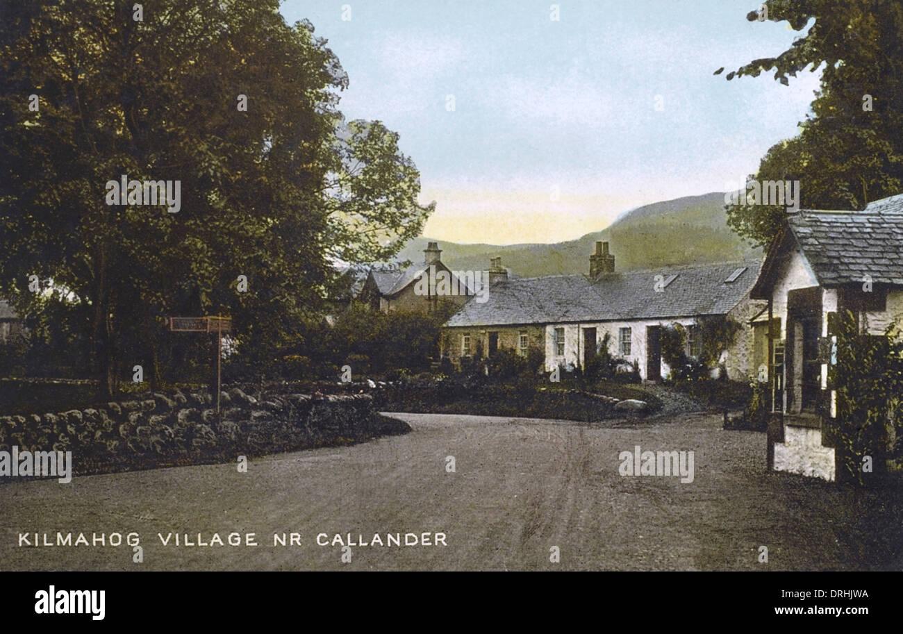 Kilmahog Hamlet near Callander, - Stock Image