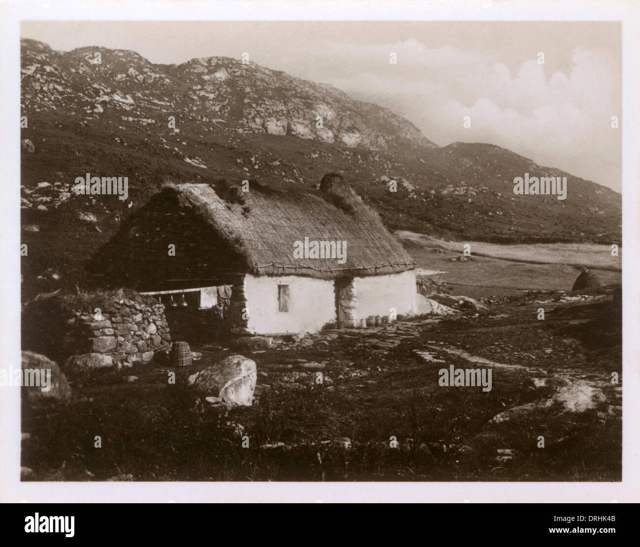 Isle of Skye - Homestead - Stock Image