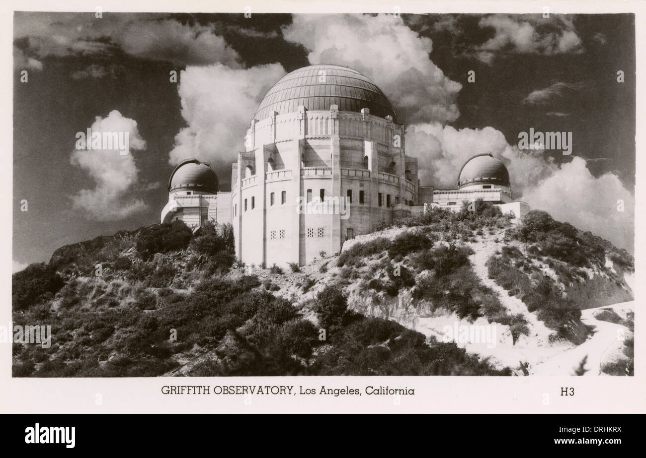 Griffith Observatory, Los Angeles, California, USA - Stock Image