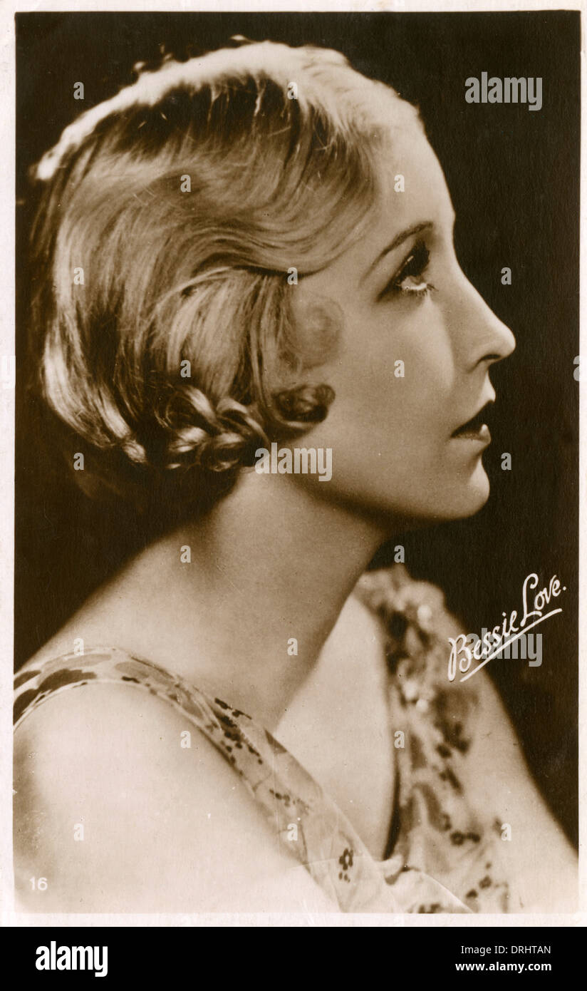 Texan Movie Star Bessie Love - Stock Image