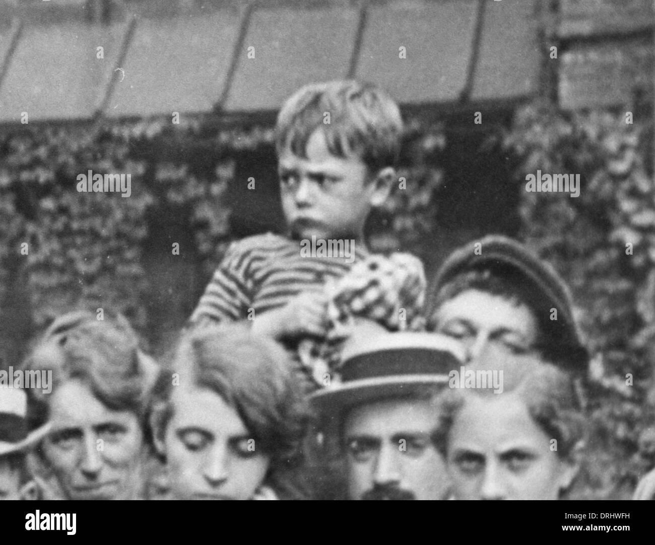 Belgian civilians, WW1 - Stock Image