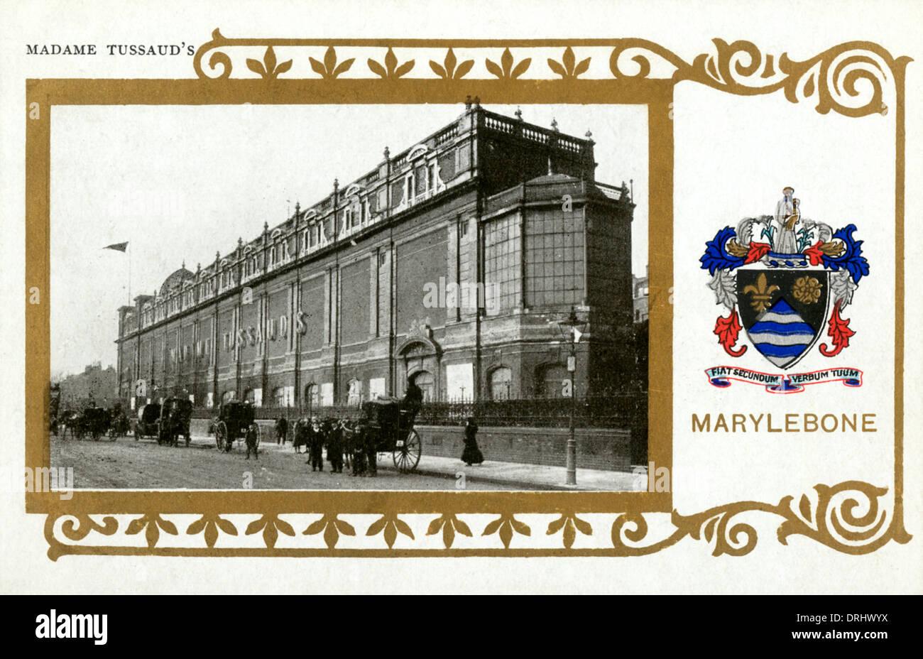 Madame Tussauds waxwork museum - Stock Image