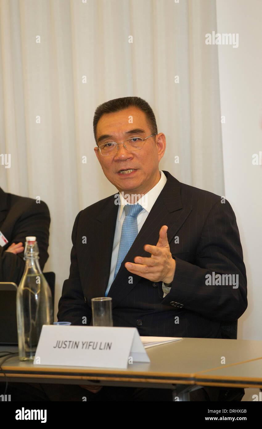 Justin Yifu Lin, former World Bank Chief Economist - Stock Image