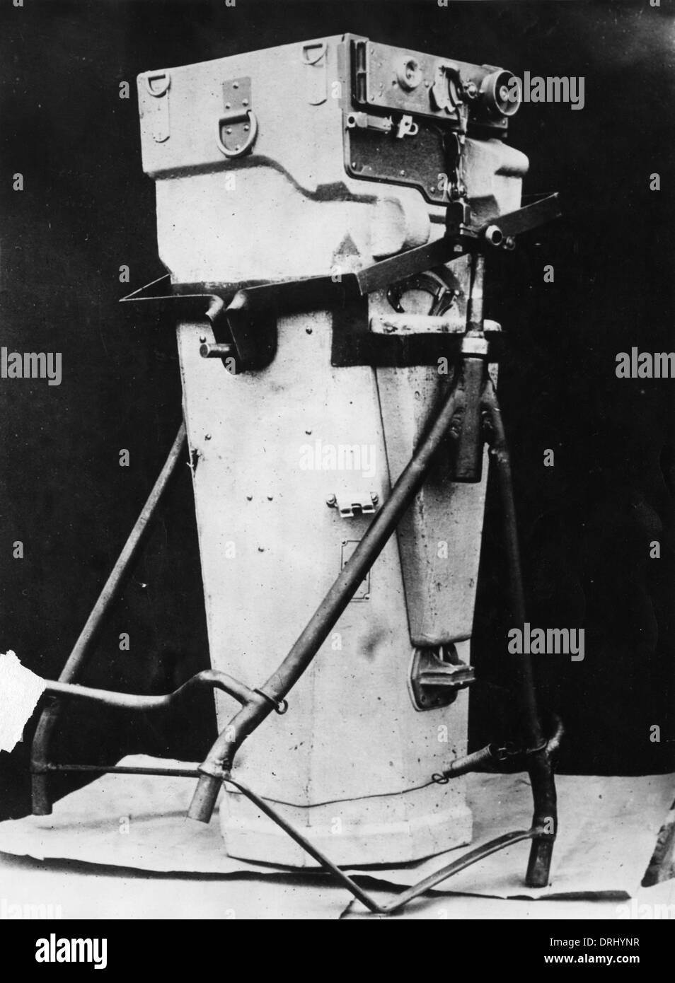 Camera used for air reconnaissance, WW1 - Stock Image