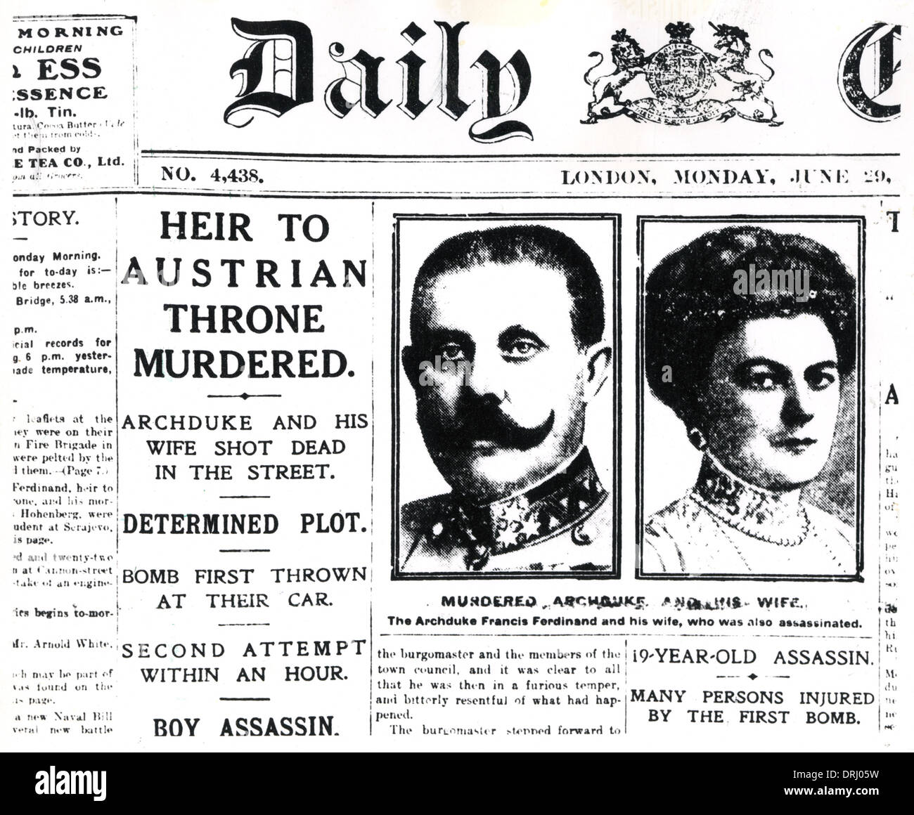 account of the life and attempts of assassinations of the arch duke francis ferdinand Assassination of archduke franz ferdinand of the black hand to start more assassination attempts assassination of franz ferdinand the most important.