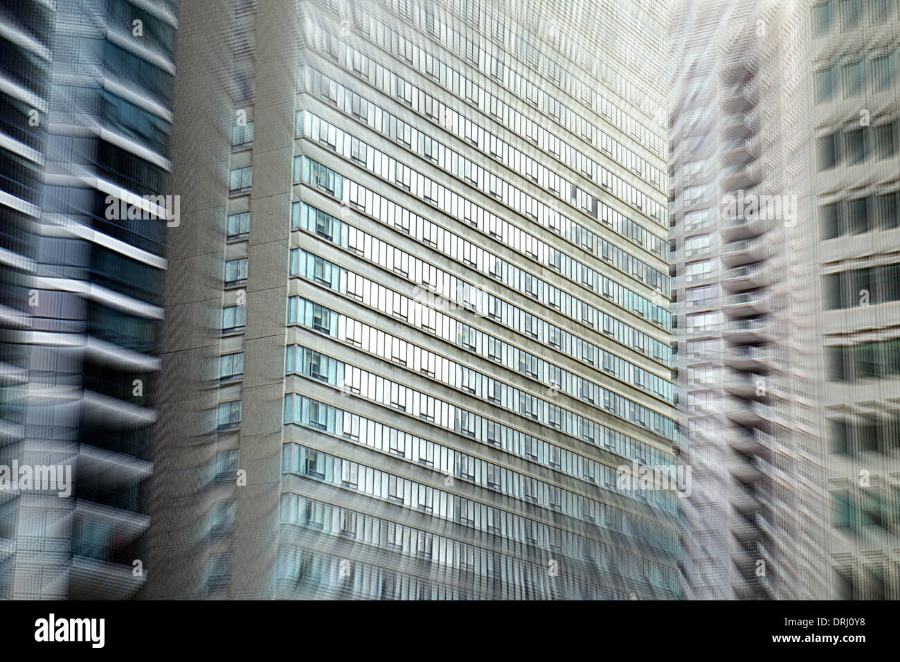 Office buildings in Toronto, Canada - Stock Image