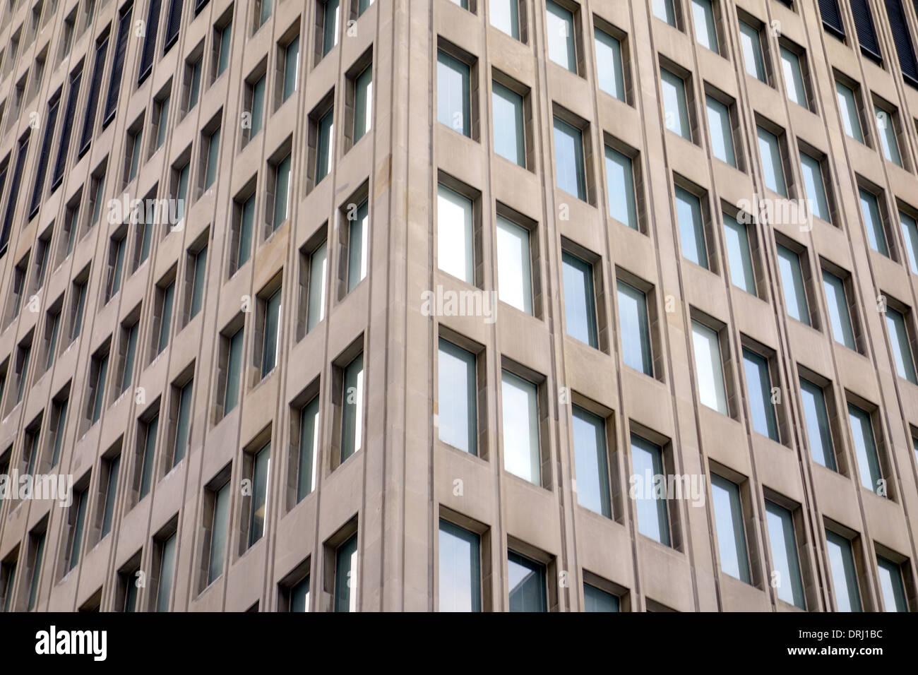 Office building closeup in Toronto, Canada - Stock Image