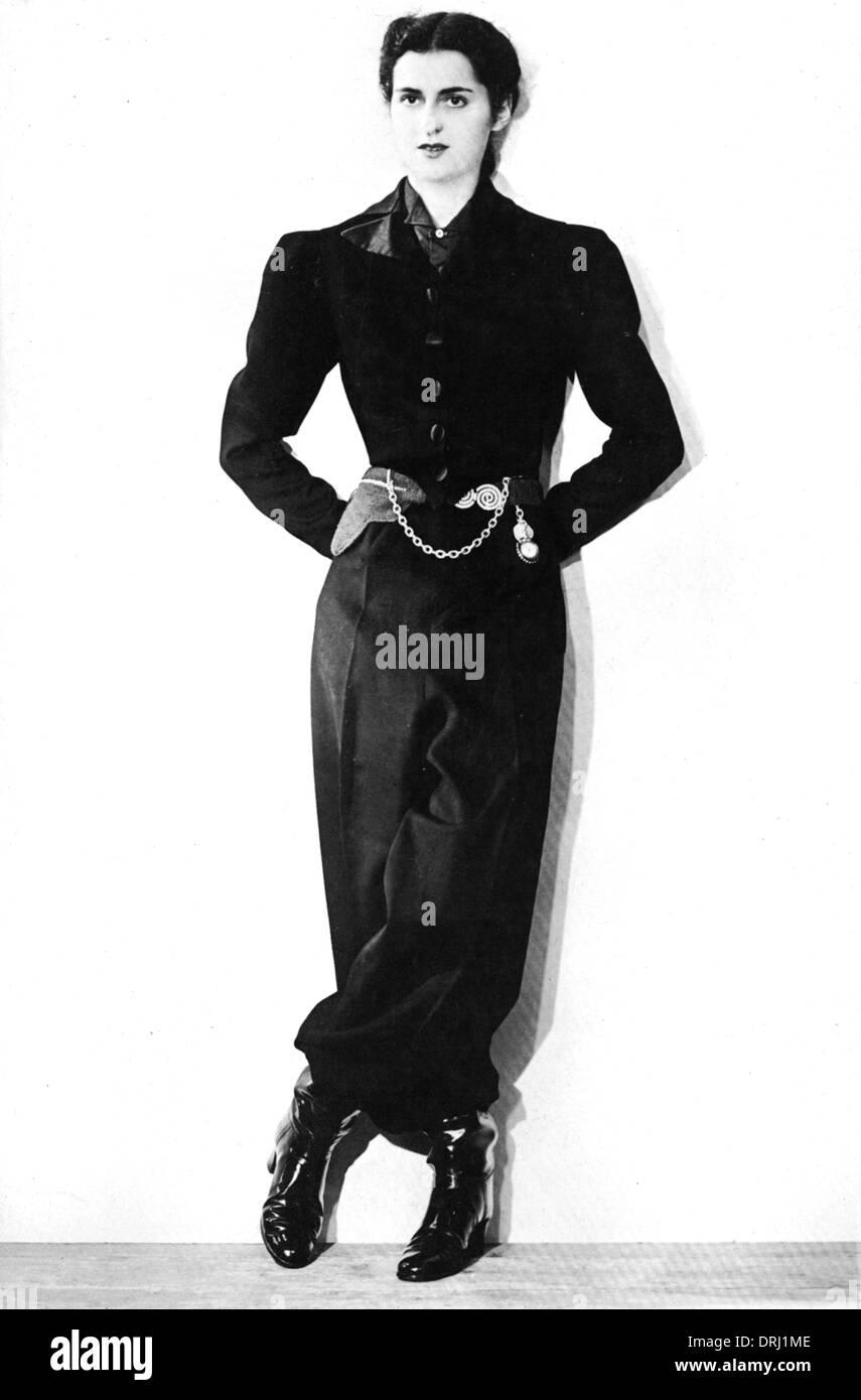 Wartime Fashion - Paris - Stock Image