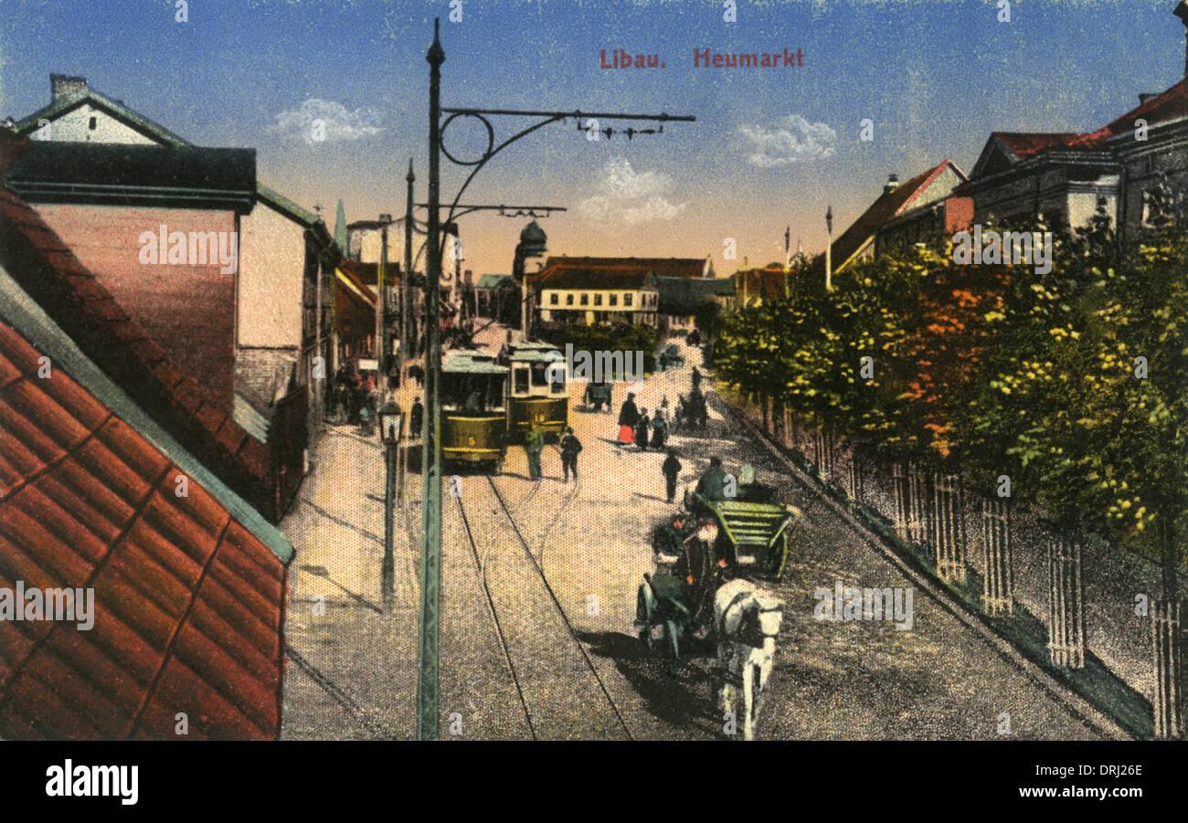 Liepaja, Western Latvia - Stock Image