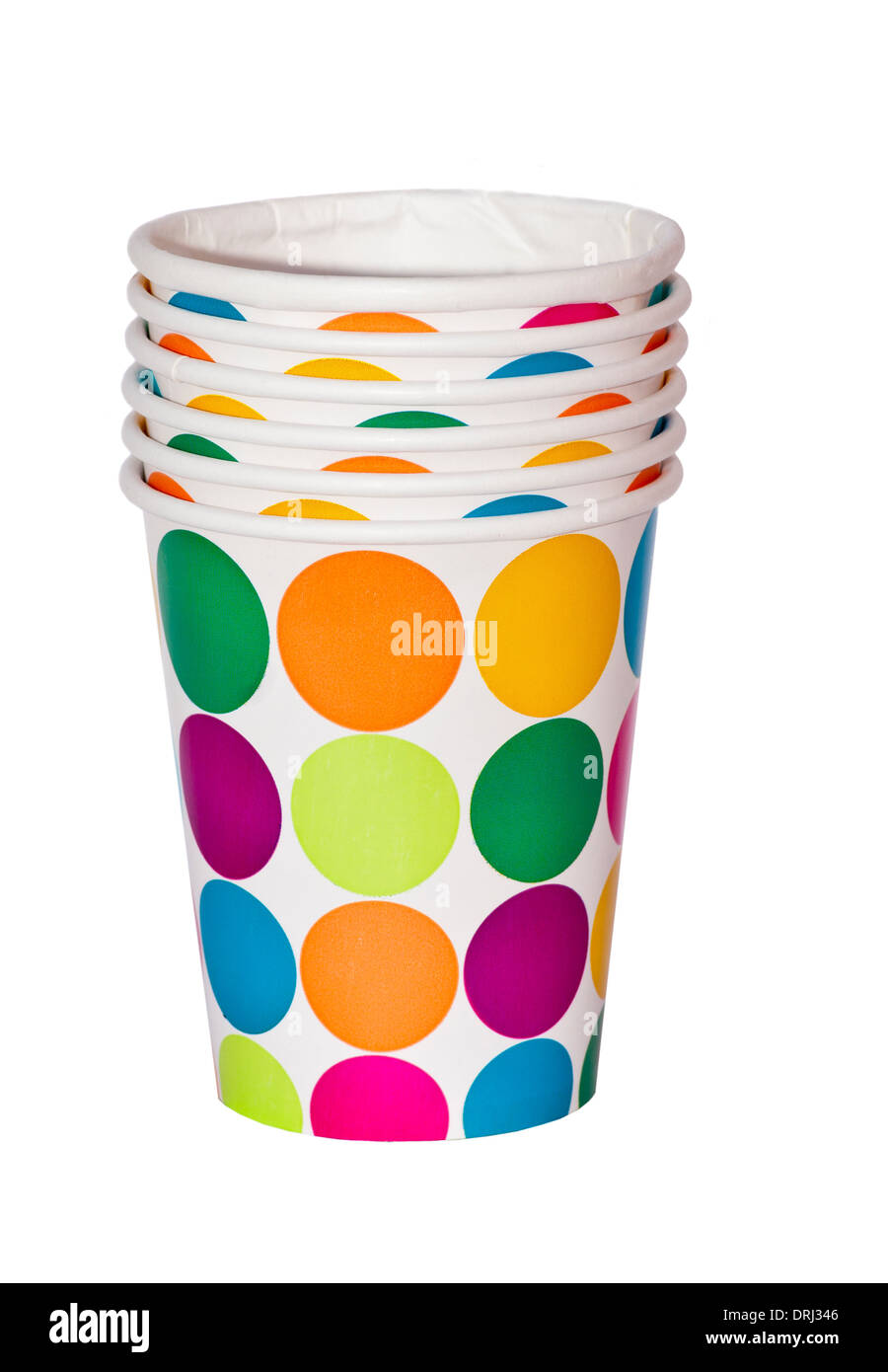 Party paper Cups Beakers - Stock Image