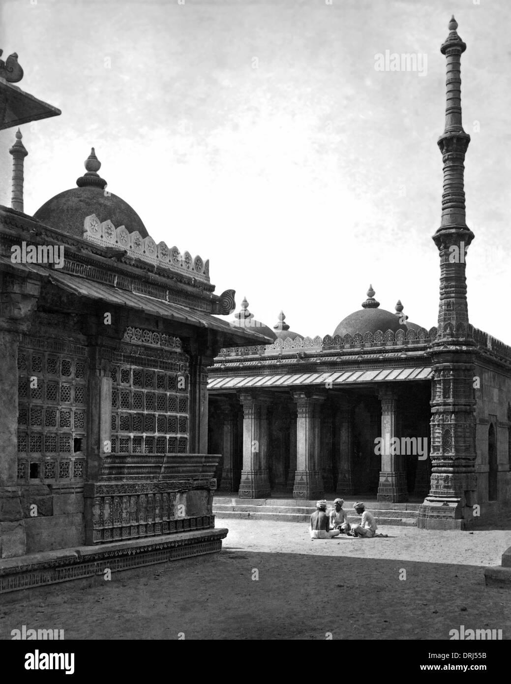 Ranee Seeprika Musjid, Ahmedabad, India - Stock Image