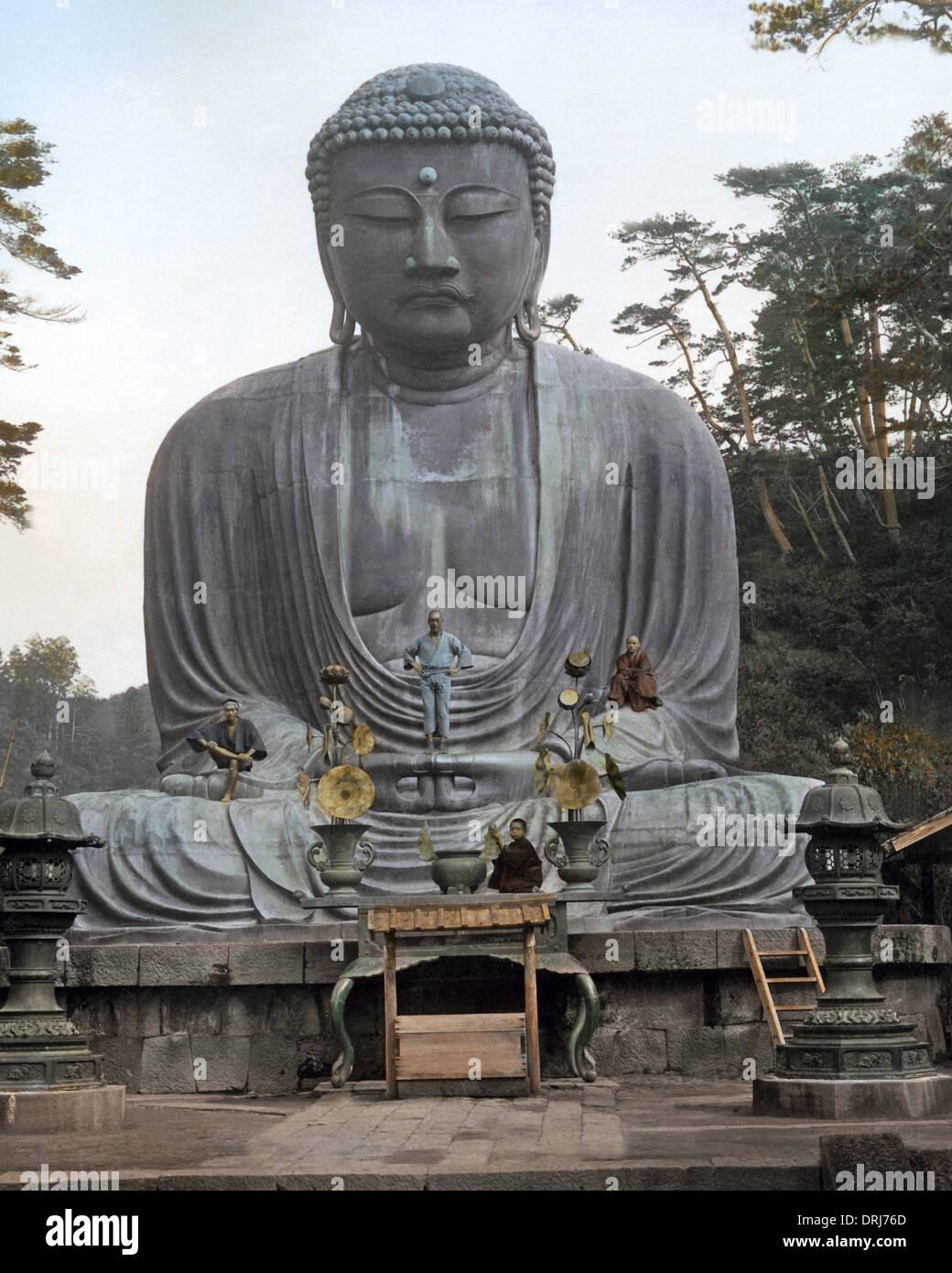 Bronze Buddha,  Kamakura, Japan - Stock Image