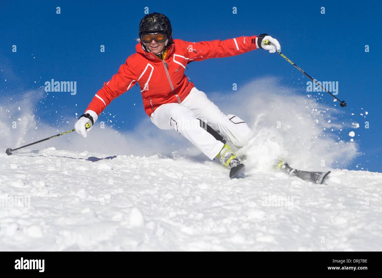 Carving ski stock photos images alamy