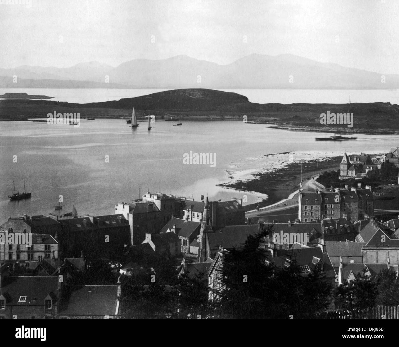 Firth of Lorn from Oban, Scotland - Stock Image